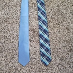 Set of 2 Stafford Blue Ties